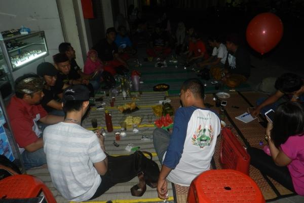 Malam silaturahmi komunitas pandan kita di Pamulang. (fit)
