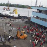 Sejak H-7 Lebaran, Pelabuhan Merak Sepi saat Siang Hari