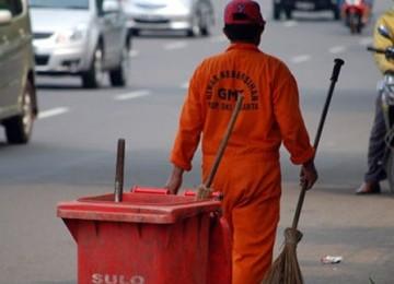 Petugas kebersihan, ilustrasi. (bbs)