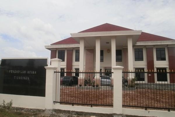 Kantor Pengadilan Agama Tigaraksa. (bbs)