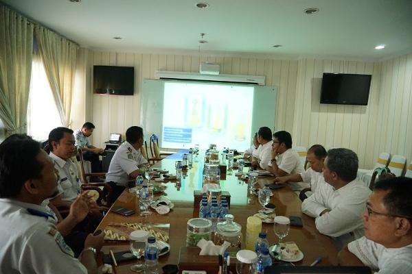 Tim penilaian WTN saat membeberkan hasil cek lapangan. (ist)