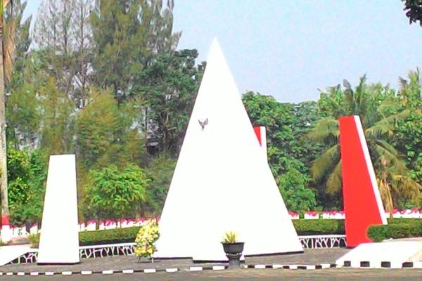 Taman Makam Pahlawan Seribu di Serpong. (hen)