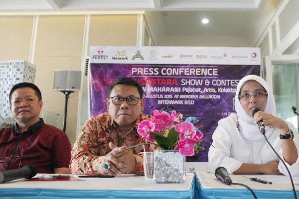 Panitia memberikan keterangan tentang event Batu Nusantara Show & Contest. (ist)