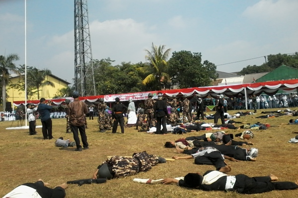 Drama kolosal pertempuran Laskar Rakyat di Cisauk. (yul)