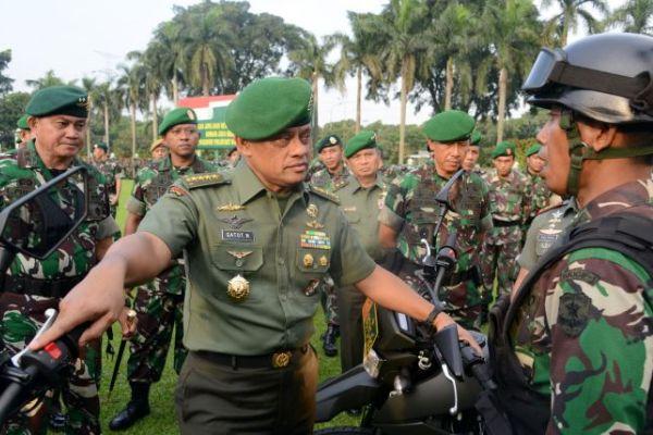 Panglima TNI Jenderal Gatot Nurmantyo. (bbs)