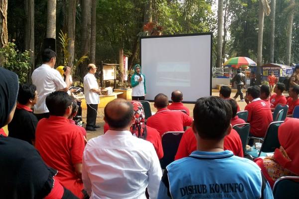 Peluncuran WiFi Corner di Taman Kota 1 BSD. (zar)