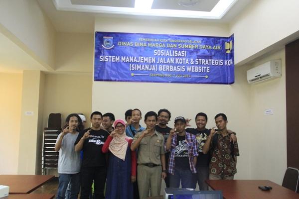 Foto bersama usai sosialisasi proyek perubahan SIMANJA. (dok)
