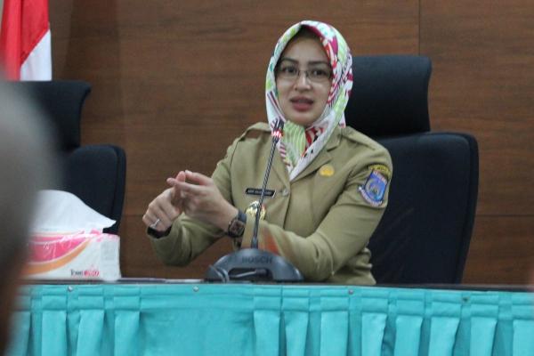 Walikota Tangsel, Airin Rachmi Diany. (one)