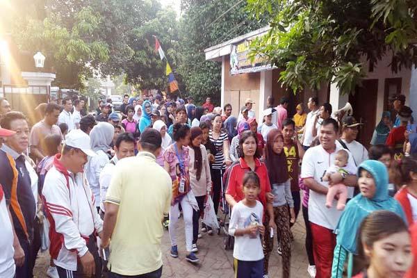 Gerak Jalan Warga Paninggilan Kota Tangerang