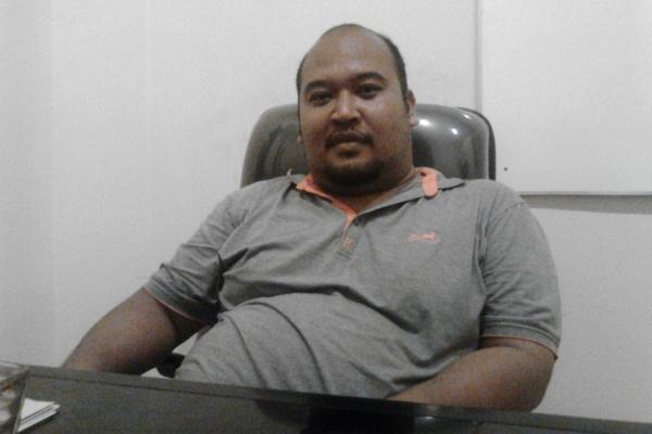 Muhammad Acep, anggota Panwaskada Tangsel. (one)
