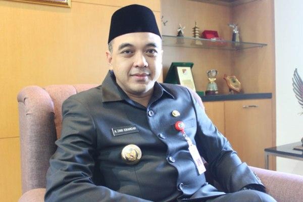 Bupati Tangerang, Ahmed Zaki Iskandar. (bbs)