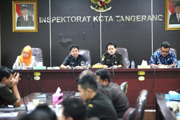 Rapat Wakil Walikota di Inspektorat Kota Tangerang. (ist)