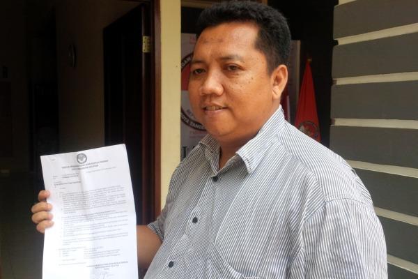 Ketua KPU Kota Tangsel, Muhammad Subhan. (ymw)