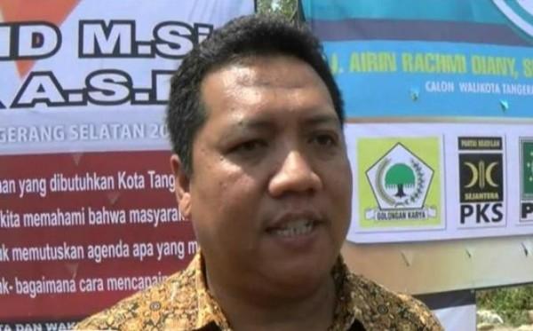 Ketua KPU Kota Tangsel M Subhan. (bbs)