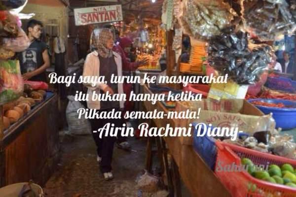 Meme calon Walikota Tangsel Airin Rachmi Diany yang beredar di media sosial. (facebook.com)
