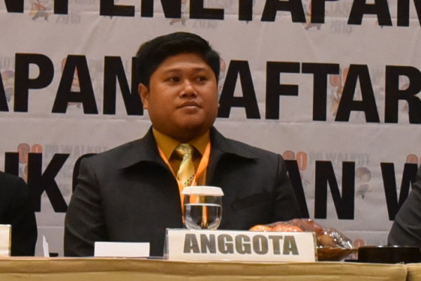 Anggota KPU Tangse, Ahmad Mujahid Zein. (one)