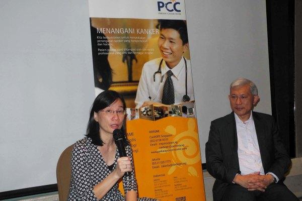 Dialog kesehatan yang digelar Parkway Cancer Center. (ist)