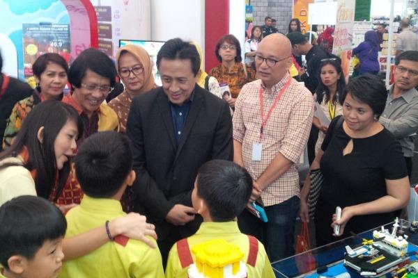 Kegiatan Jakarta Kids Festival 2015 di ICE BSD. (one)