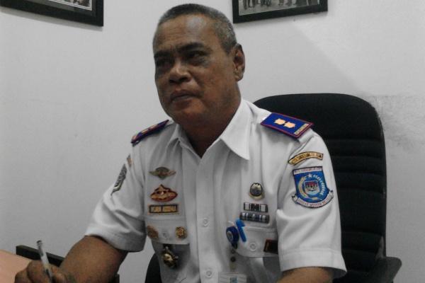 Kabid Angkutan Dishubkominfo Kota Tangsel Wijaya Kusuma. (one)