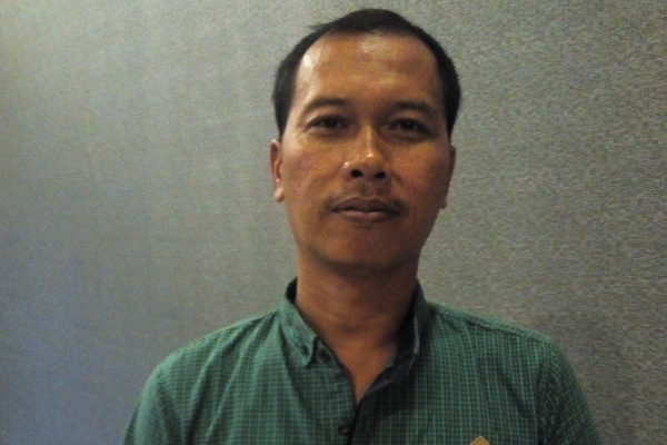 Ketua Panwascam Serpong, Ahmad Najib. (jok)