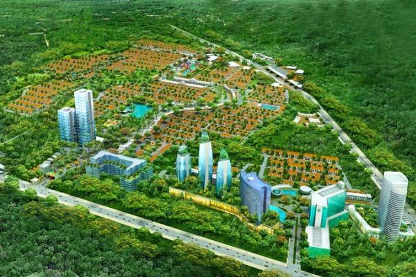 Masterplan Paradise Serpong City. (ist)