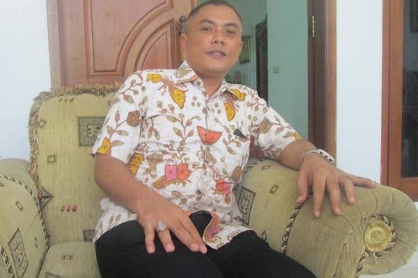 Sekretaris DPD Partai Golkar Tangsel, Rahmat Hidayat. (jok)