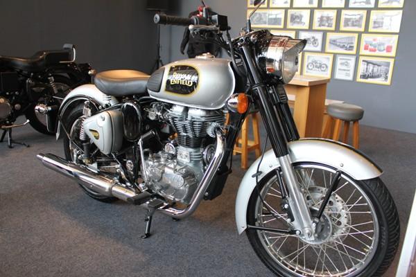 Salah satu varian sepeda motor Royal Enfield. (bung)