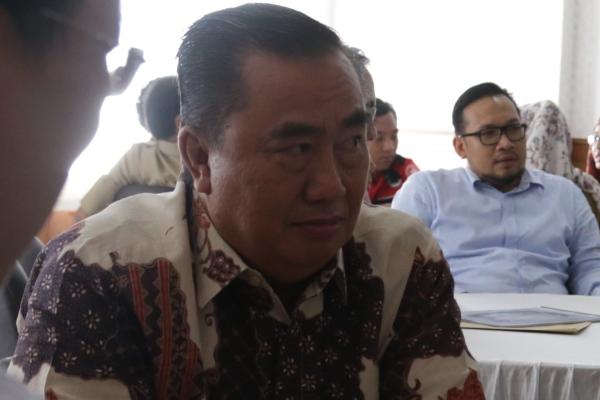 Wakil Ketua DPRD Kota Tangsel, Saleh Asnawi. (one)