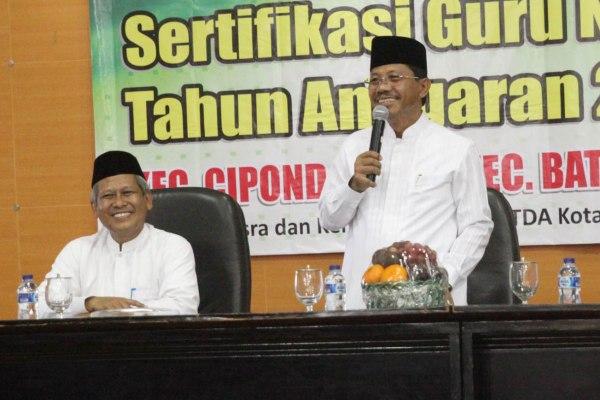 Wakil Walikota Tangerang Sachrudin (kanan). (ist)