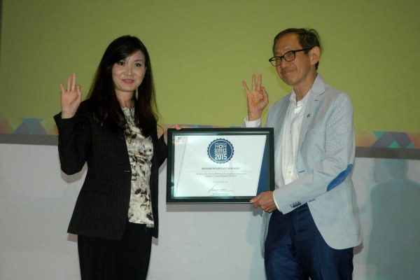 Indonesia WOW Service Exellence Award 2015. (ist)