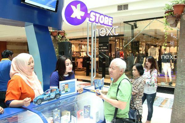 XL Store di Pondok Indah Mall. (ist)