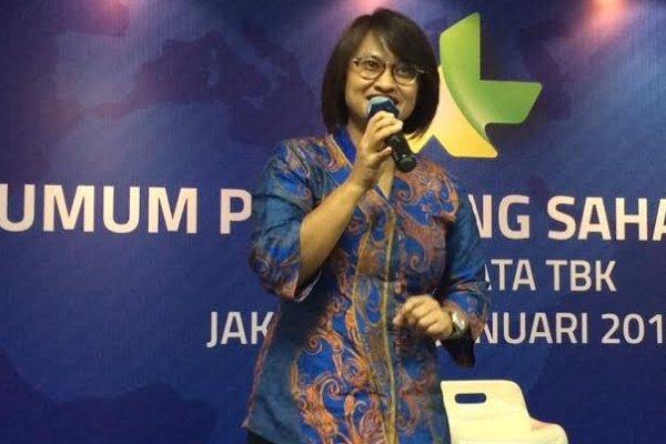 Presiden Direktur XL, Dian Siswarini. (bbs)