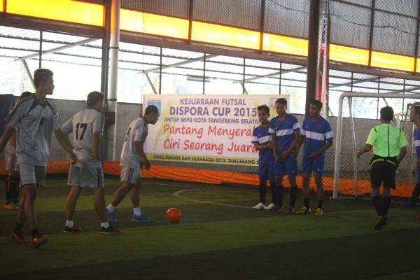 Kompetisi Futsal, Dispora Cup 2015. (zar)