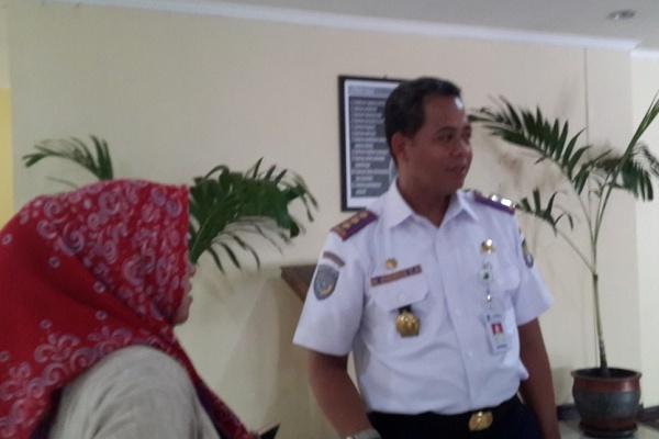 Kepala Dishub Kota Tangerang, Engkos Zarkasyi. (bbs)