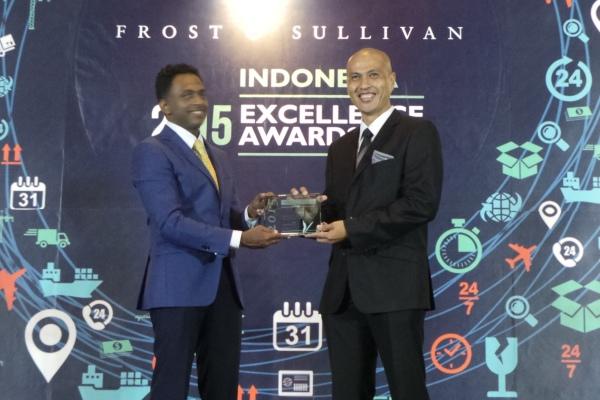 Ajang Frost & Sullivan 2015 di Jakarta. (ist)