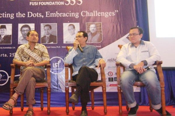 Seminar memperingati setahun Yayasan Fusi (Fusi Foundation). (one)