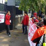 GMNI Tuntut Mantan Kepala Damkar Kota Tangerang Segera Disidang