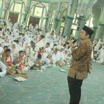 Ribuan Anak Ikuti Manasik Haji di Masjid Al Azhom