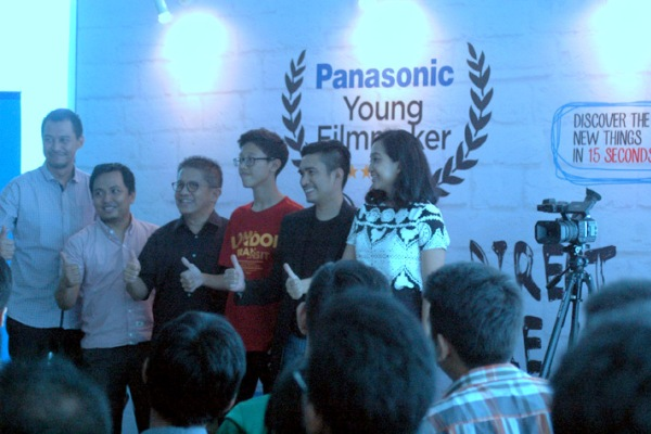 Peserta finalis Panasonic Young Filmmaker 2015. (bud)
