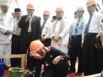 peletakan batu pertama masjid raya al i'tizom tangsel1