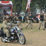 Peringatan HUT TNI di Tangsel Dihadiri 2 Kepala Daerah