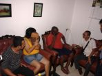 warga liberia diamankan petugas imigrasi