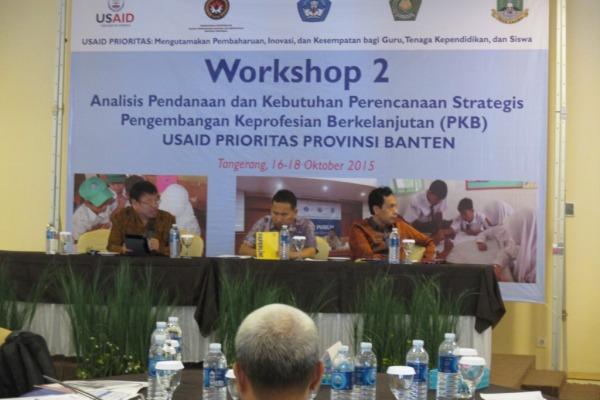 Workshop kedua PKB yang digelar USAID Prioritas. (ist)
