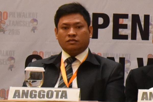Anggota KPU Tangsel, Badrussalam. (one)
