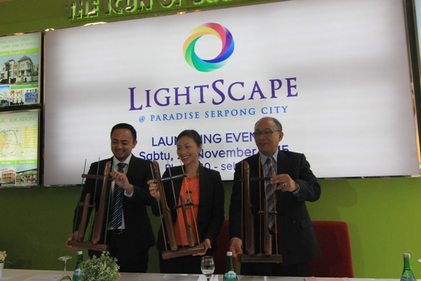 Peluncuran Cluster LightScape. (kie)