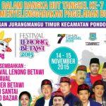 HUT ke-7 Kota Tangsel, Festival Lenong Betawi Digelar