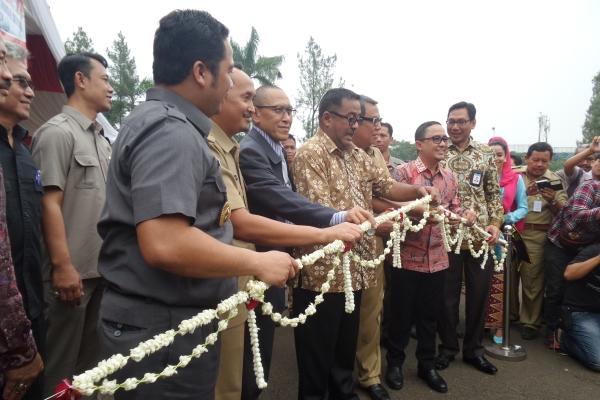 Gubernur Banten saat peringatan Hari Pangan Sedunia di Kota Tangsel. (man)