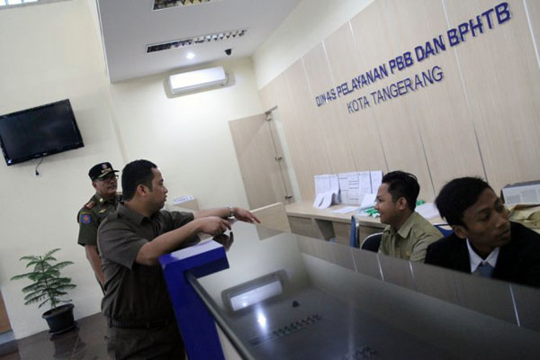 Pelayanan Pajak Keliling Kota Tangerang