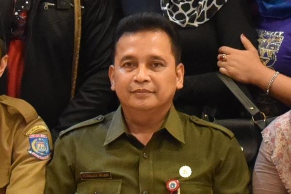 Kepala Dinsosnakertrans Kota Tangsel, Purnama Wijaya. (one)