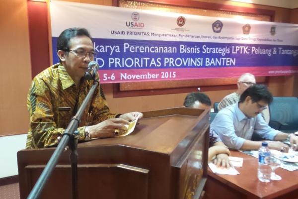 Rektor Untirta Prof Soleh Hidayat. (ist)